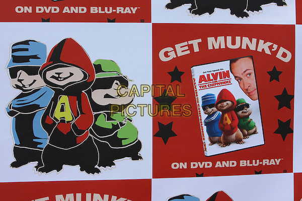 "ATMOSPHERE .""Alvin And The Chipmunks"" DVD Release Party held at the El Rey Theater, Hollywood, California, USA, .27 March 2006 .poster .CAP/ADM/`CH.©Charles Harris/Admedia/Capital PIctures"