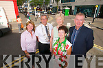 Pictured from left: Cllr. Gillian Wharton Slattery, Pat Hussey (Mayor of Tralee), Cllr. Mairead Fernane, Joan O'Regan (Tralee Chamber Alliance)  and Kieran Ruttledge (Tralee Chamber Alliance).