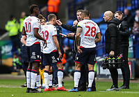 Bolton Wanderers' manager Phil Parkinson instructs his players  <br /> <br /> Photographer Andrew Kearns/CameraSport<br /> <br /> The EFL Sky Bet Championship - Bolton Wanderers v Preston North End - Saturday 9th February 2019 - University of Bolton Stadium - Bolton<br /> <br /> World Copyright © 2019 CameraSport. All rights reserved. 43 Linden Ave. Countesthorpe. Leicester. England. LE8 5PG - Tel: +44 (0) 116 277 4147 - admin@camerasport.com - www.camerasport.com