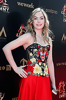 PASADENA - May 5: Annika Noelle at the 46th Daytime Emmy Awards Gala at the Pasadena Civic Center on May 5, 2019 in Pasadena, California