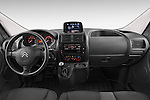 Stock photo of straight dashboard view of a 2015 Citroen Jumpy L1H1 Ft10 4 Door Cargo Van