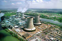 Three Mile Island Nuclear Reactor/Power Plant, Pennsylvania