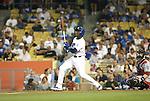 LOS ANGELES, CA. - September 02: Orlando Hudson of the Los Angeles Dodgers  batting during the game Dodgers vs. the Arizona Diamondbacks at Dodger Stadium in Los Angeles, California on September 2, 2009.