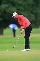 Patrick Roos (FIN) on the 10th green during Round 2 of the Bridgestone Challenge 2017 at the Luton Hoo Hotel Golf &amp; Spa, Luton, Bedfordshire, England. 08/09/2017<br /> Picture: Golffile | Thos Caffrey<br /> <br /> <br /> All photo usage must carry mandatory copyright credit     (&copy; Golffile | Thos Caffrey)
