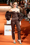Actress Marta Hazas attends to orange carpet of 'Velvet' during FestVal in Vitoria, Spain. September 04, 2018.(ALTERPHOTOS/Borja B.Hojas)