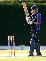 25 JUN 2009 - LOUGHBOROUGH,GBR - Paul Borrington (Loughborough UCCE) prepares to bat during the match against Cambridge UCCE - UCCE Twenty 20 (PHOTO (C) NIGEL FARROW)