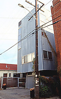 Frank Gehry: Spiller House--back alley. Photo '86.