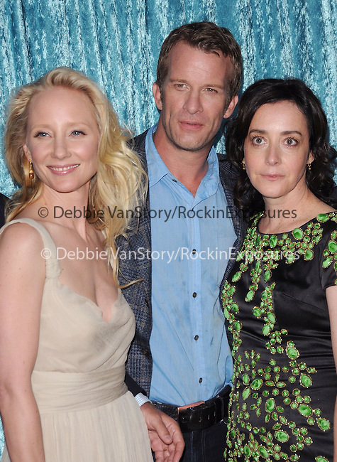 Thomas Jane,Jane Adams & Anne Heche at the HBO Premiere of 2nd Season of Hung held at Paramount Picture Studios in Hollywood, California on June 23,2010                                                                               © 2010 Debbie VanStory / Hollywood Press Agency