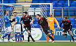 St Johnstone v Inverness Caledonian Thistle....22.02.14    SPFL<br /> Gary Warren celebrates his goal<br /> Picture by Graeme Hart.<br /> Copyright Perthshire Picture Agency<br /> Tel: 01738 623350  Mobile: 07990 594431