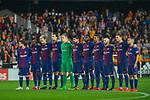 Players of FC Barcelona prior to the La Liga 2017-18 match between Valencia CF and FC Barcelona at Estadio de Mestalla on November 26 2017 in Valencia, Spain. Photo by Maria Jose Segovia Carmona / Power Sport Images