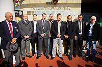 Saturday 22 September 2012<br /> <br /> Pictured:<br /> <br /> RE: Unveiling of the Robbie James Memorial Plaque at the Liberty Stadium Swansea