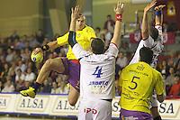 28.03.2012. Leon, España. Liga Asobal Ademar Leon- Pucela