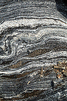METAMORPHIC ROCK STRATA<br />