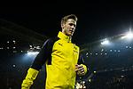 14.01.2018, Signal Iduna Park, Dortmund, GER, 1.FBL, Borussia Dortmund vs VfL Wolfsburg, <br /> <br /> im Bild | picture shows:<br /> Erik Durm (BVB#37), <br /> <br /> Foto &copy; nordphoto / Rauch