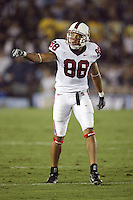 1 October 2006: Michael Miller during Stanford's 31-0 loss to UCLA at the Rose Bowl in Pasadena, CA.