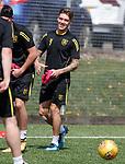 16.05.2018 Livingston FC training and presser: Josh Mullin