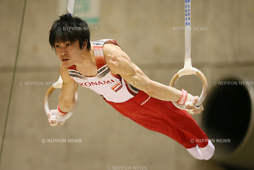 Kohei Uchimura, MAY 9, 2014 - Artistic Gymnastics : The 68th All Japan Gymnastics Championship Men's Individual All-Around preliminary at 1st Yoyogi Gymnasium, Tokyo, Japan. (Photo by Yohei Osada/AFLO SPORT) [1156]