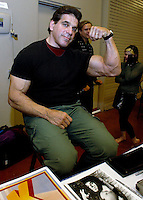 AJ ALEXANDER/AAP - Lou Farigno The Incredible Hulk.Photo by AJ ALEXANDER (c)