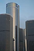 USA Michigan Detroit  paesaggio urbano sede della General Motors Detroit, sede principale della General Motors