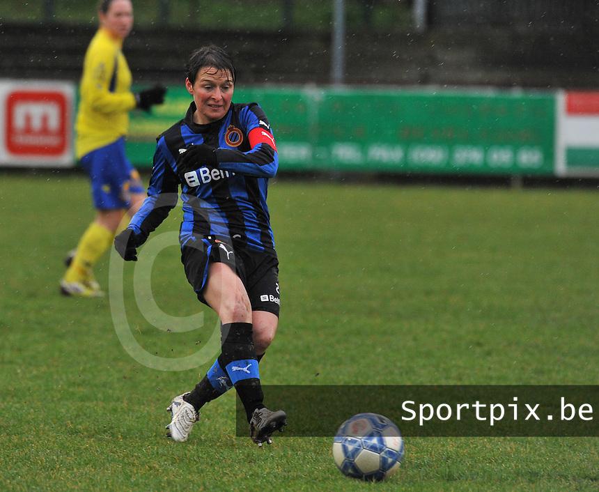 Club Brugge - STVV : Christine Saelens.foto Joke Vuylsteke / Vrouwenteam.be