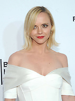 NEW YORK, NY - APRIL 19: Christina Ricci attends the 'Clive Davis: The Soundtrack of Our Lives' 2017 Opening Gala of the Tribeca Film Festival at Radio City Music Hall on April 19, 2017 in New York City. <br /> CAP/MPI/JP<br /> &copy;JP/MPI/Capital Pictures