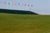 June 14th 2017, Erin, Wisconsin, USA; A general view of the 18th green during the 117th US Open - Practice Round at Erin Hills in Erin, Wisconsin