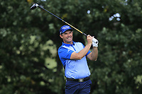 Padraig Harrington (IRL) on the 4th tee during Round 2 of the Sky Sports British Masters at Walton Heath Golf Club in Tadworth, Surrey, England on Friday 12th Oct 2018.<br /> Picture:  Thos Caffrey | Golffile<br /> <br /> All photo usage must carry mandatory copyright credit (&copy; Golffile | Thos Caffrey)