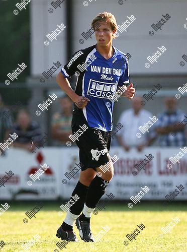 2008-07-24 / Voetbal / Archief 2008-2009 / K. Rupel Boom F.C / Jeremy Aters..Foto: Maarten Straetemans (SMB)