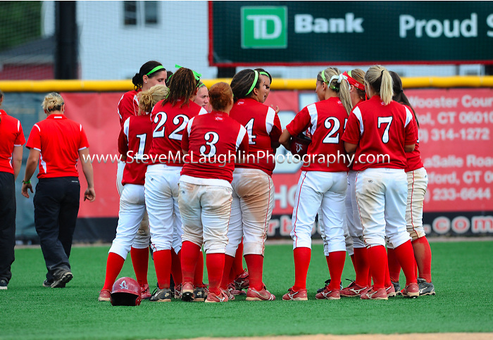 University of Hartford Fall Softball action vs. Marist.