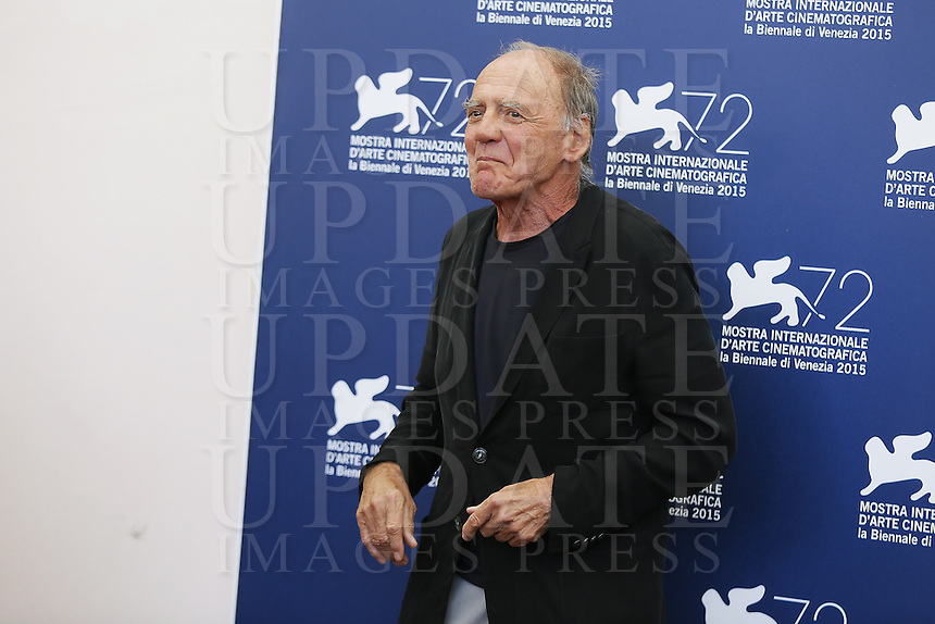 Bruno Ganz attends a photocall for the movie 'Remember' during the 72nd Venice Film Festival at the Palazzo Del Cinema in Venice, Italy, September 10, 2015.<br /> UPDATE IMAGES PRESS/Stephen Richie