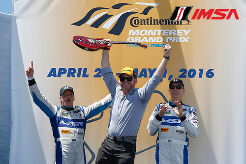 29 April - May 1, 2016, Monterey, California<br /> ,  60, Honda HPD, Ligier JS P2, P, John Pew, Oswaldo Negri, Jr., Michael Shank<br /> &copy;2016, Michael L. Levitt<br /> LAT Photo USA