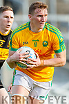 Denis Daly, South Kerry in action against David O Leary, Dr Crokes during the Semi finals of the Kerry Senior GAA Football Championship between Dr Crokes and South Kerry at Fitzgerald Stadium on Sunday.