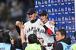 (L to R) <br /> Seiichi Uchikawa, <br /> Tetsuto Yamada (JPN), <br /> MARCH 14, 2017 - WBC : <br /> 2017 World Baseball Classic <br /> Second Round Pool E Game <br /> between Japan 8-5 Cuba <br /> at Tokyo Dome in Tokyo, Japan. <br /> (Photo by YUTAKA/AFLO SPORT)