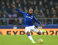 26th December 2019; Goodison Park, Liverpool, Merseyside, England; English Premier League Football, Everton versus Burnley; Fabian Delph of Everton plays a long pass  - Strictly Editorial Use Only. No use with unauthorized audio, video, data, fixture lists, club/league logos or 'live' services. Online in-match use limited to 120 images, no video emulation. No use in betting, games or single club/league/player publications