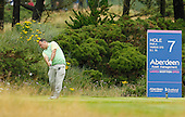 Stephen Docherty during the final round  of the 2016 Aberdeen Asset Management Ladies Scottish Open played at Dundonald Links Ayrshire from 22nd to 24th July 2016:  Picture Stuart Adams, www.golftourimages.com: 22/07/2016