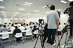 General view, <br /> AUGUST 7, 2015 : <br /> International Wushu Federation (IWUF) <br /> holds a media conference following its interview <br /> with the Tokyo 2020 Organising Committee in Tokyo Japan. <br /> (Photo by YUTAKA/AFLO SPORT)