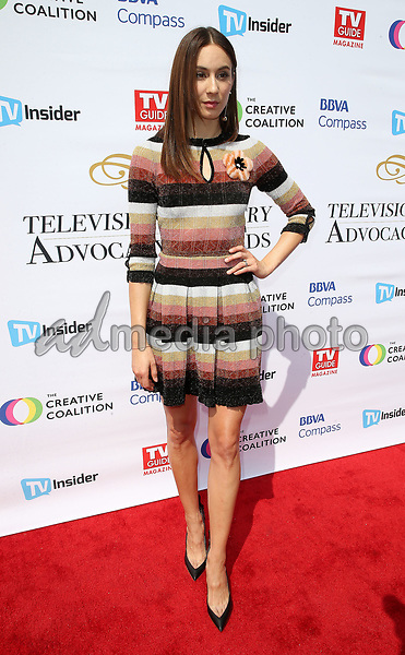 16 September 2017 - Hollywood, California - Troian Bellisario. Television Industry Advocacy Awards held at TAO Hollywood. Photo Credit: F. Sadou/AdMedia