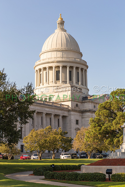 The Arkansas State Capitol in Little Rock, Arkansas.