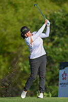 Jane Park (USA) watches her tee shot on 7 during round 1 of  the Volunteers of America LPGA Texas Classic, at the Old American Golf Club in The Colony, Texas, USA. 5/5/2018.<br /> Picture: Golffile | Ken Murray<br /> <br /> <br /> All photo usage must carry mandatory copyright credit (&copy; Golffile | Ken Murray)