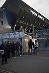 Turnstiles for Britannia Stand, Ipswich Town Football Club, Portman Road, Ipswich, Suffolk, England