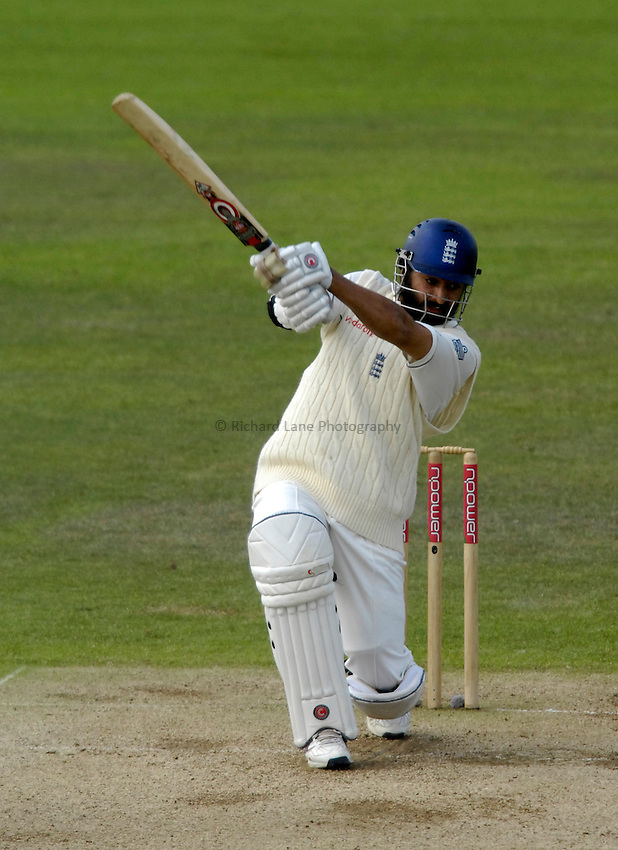 Photo: Jed Wee/Richard Lane Photography..England v West Indies. 4th Test npower Test Match Series. 18/06/2007...England's Monty Panesar in batting action.