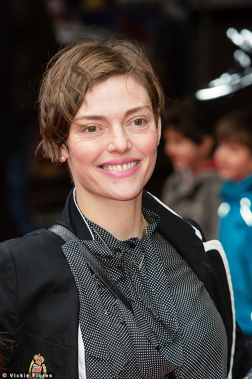 Camilla Rutherford attends the UK Premiere of The Lego Movie at the Vue West End in Leicester Square, London on February 9th, 2014.