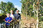 Tullahinell Wind Turbine Issue - Locals John Roche, wife Sally Roche and Grandson Sean Guiri and residents of Tullahinell south Road near Ballylongford, not happy with contractors of the Tullahinell Wind Turbine who have damaged Trees on Locals property along the road to the site