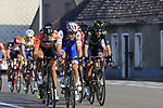 The peloton with 12k to go during the 60th edition of the Record Bank E3 Harelbeke 2017, Flanders, Belgium. 24th March 2017.<br /> Picture: Eoin Clarke | Cyclefile<br /> <br /> <br /> All photos usage must carry mandatory copyright credit (&copy; Cyclefile | Eoin Clarke)