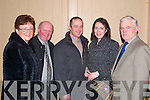 GREAT: Bridget and John O'Connor, Ann and Dan Brosnan with Seamus McEnery having a great night at the Ballyduff Farmers social in Lowe's Bar and Restaurant on Friday night.   Copyright Kerry's Eye 2008