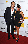 "Alex O'Loughlin and date arriving to the ""AusFilm International Awards"" held at the InterContinental Hotel Los Angeles, Ca. October 24, 2013."