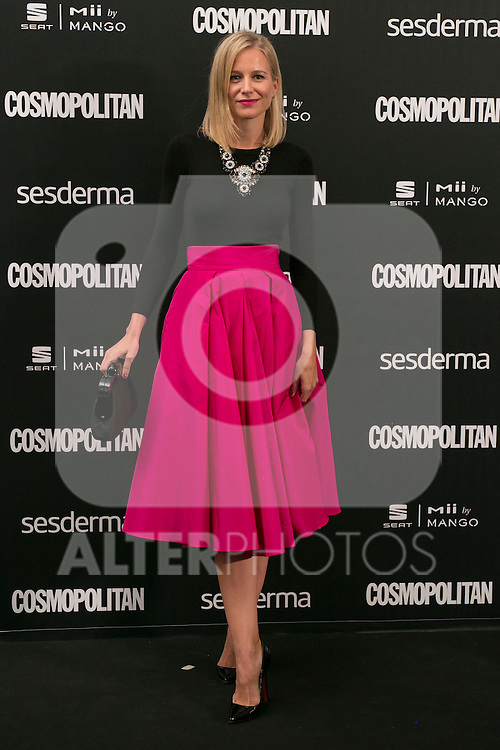 Maria Leon attend the photocall of the Cosmopolitan Fun Fearless Female 2014 Awards at the Ritz Hotel in Madrid, Spain. October 20, 2014. (ALTERPHOTOS/Carlos Dafonte)