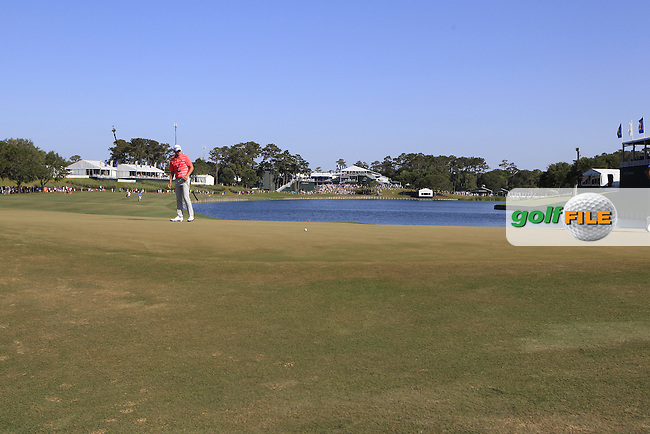 Daniel Berger (USA) during round 3 of the Players, TPC Sawgrass, Championship Way, Ponte Vedra Beach, FL 32082, USA. 14/05/2016.<br /> Picture: Golffile | Fran Caffrey<br /> <br /> <br /> All photo usage must carry mandatory copyright credit (&copy; Golffile | Fran Caffrey)