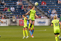 Chicago, IL - Sunday Sept. 04, 2016: Kendall Fletcher during a regular season National Women's Soccer League (NWSL) match between the Chicago Red Stars and Seattle Reign FC at Toyota Park.
