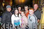 Pictured in Athea for a special variety show last Sunday evening was Damien Goad(Tournafulla), Sharron O'Grady(Brosnan), Maria and Kori Goad(Tournafulla) and Kay, Ian and David Walsh(Brosna)